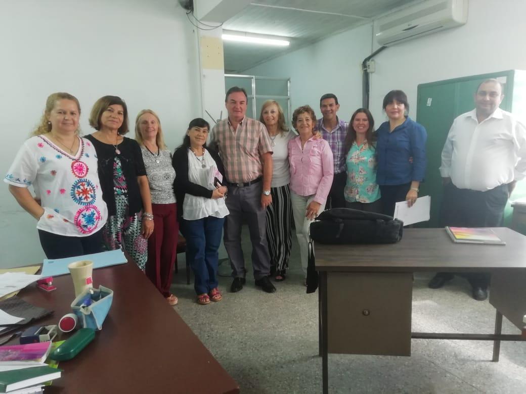 Reunión de articulación entre Educación Vial y el Consejo General de Educación
