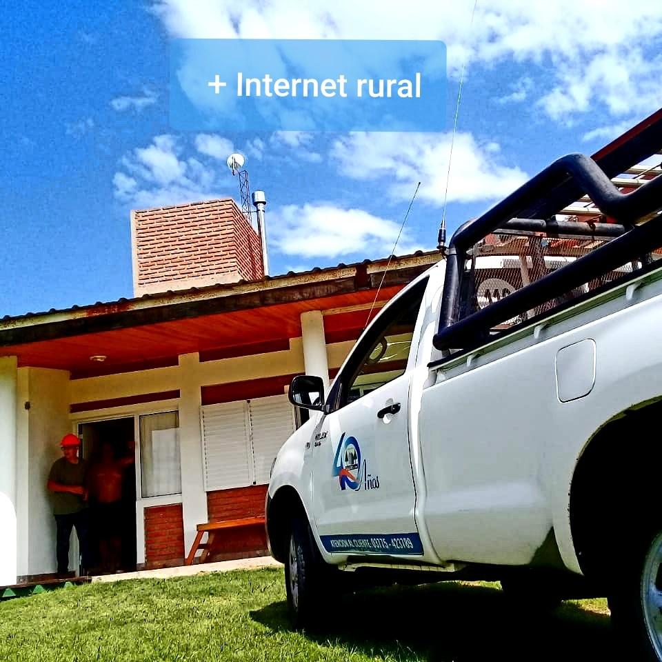 La CAEMC ya brinda el servicio de internet rural