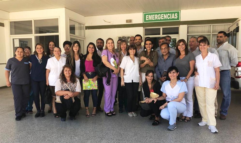 Cardozo coordinó mejoras para el Hospital de Ita Ibaté
