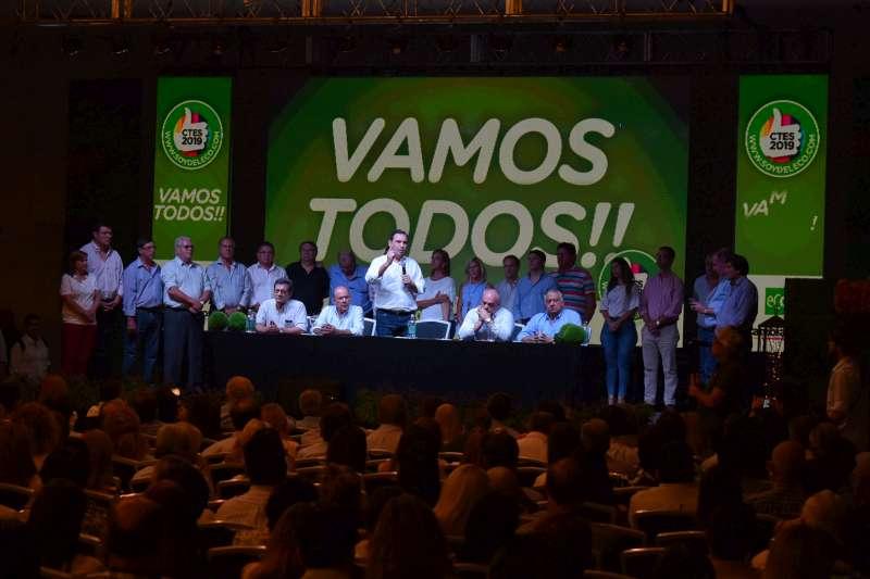 """ECO lanzó la campaña en busca de un triunfo para """"asegurar el rumbo definitivo"""" de la provincia"""