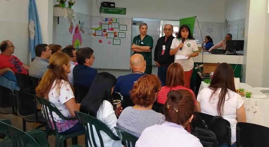 Salud realizó tareas de prevención de Leishmaniasis en San Roque