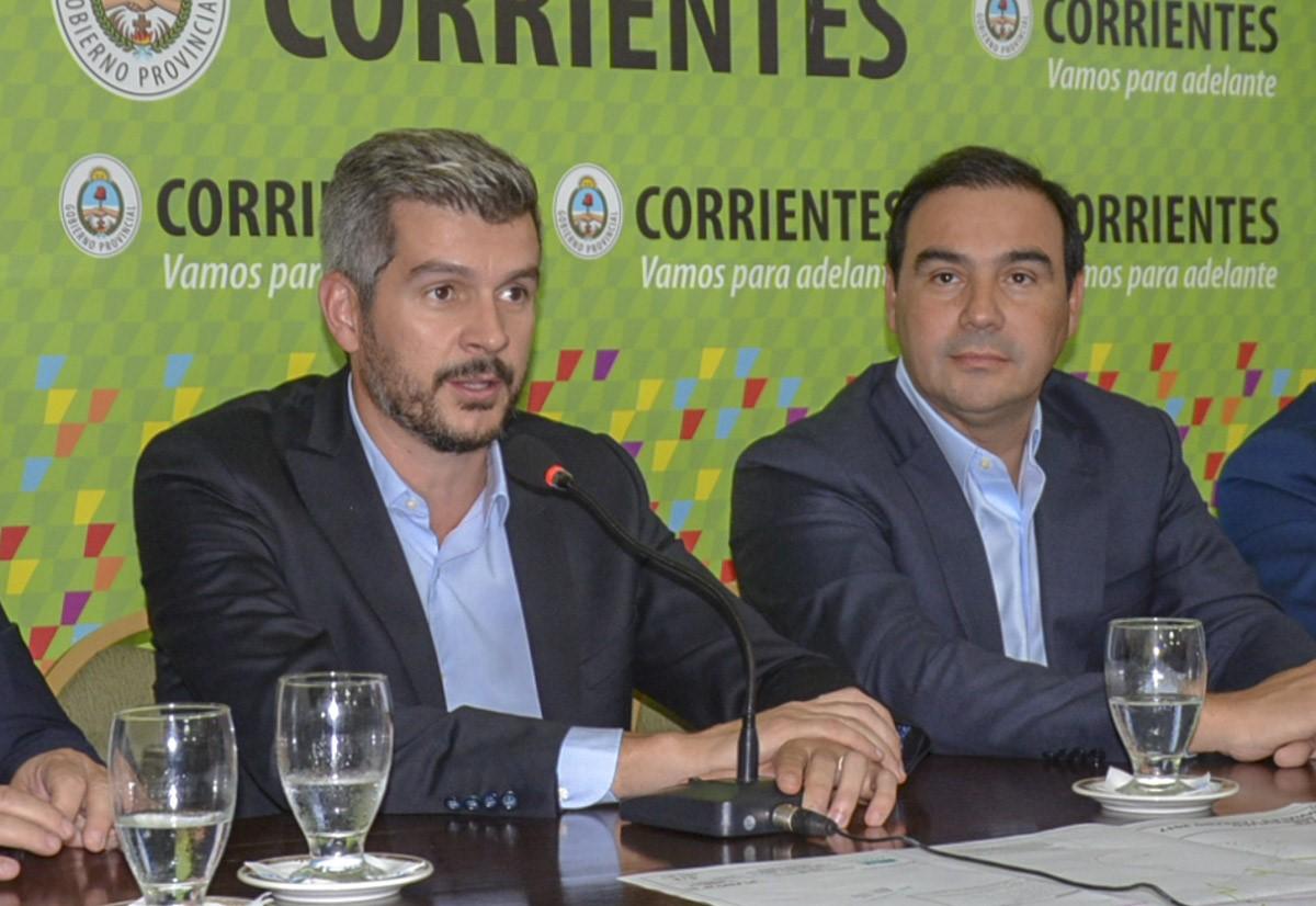 Marcos Peña llega mañana a Corrientes y cumplirá una agenda de actividades con el gobernador Valdés