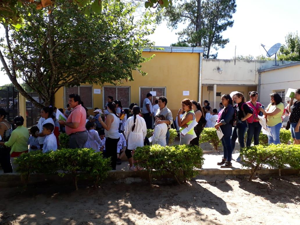 La Provincia realizó un operativo sanitario en Palmar Grande