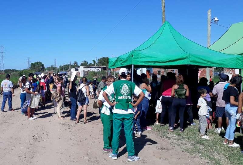 La Provincia brindó atenciones sanitarias a vecinos del barrio Pirayuí
