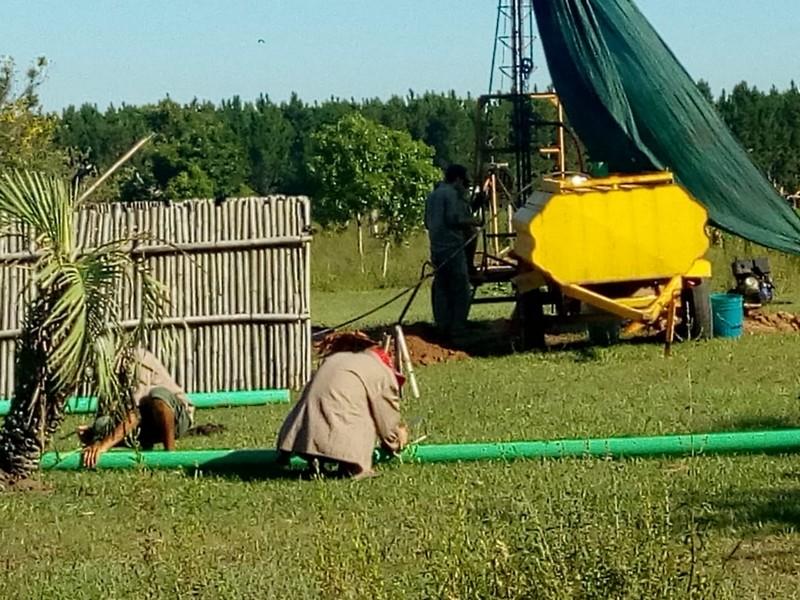 En San Miguel, otro pequeño productor ganadero con acceso al agua
