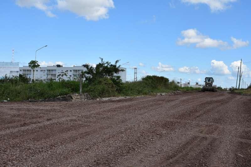 Enripian el acceso del barrio Santa Catalina hasta el ingreso a los viejos cuarteles del RI IX