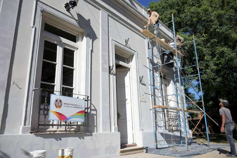El Adolfo Mors se alista para estrenar espacios remozados en el mes de Corrientes
