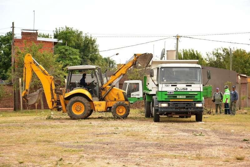 Tassano inauguró el primer Centro de Transferencia de Residuos Secos