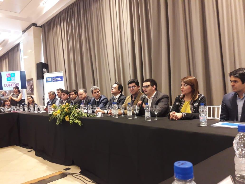 El CO.PRO.DIS participó de la 79° asamblea del Consejo Federal de Discapacidad
