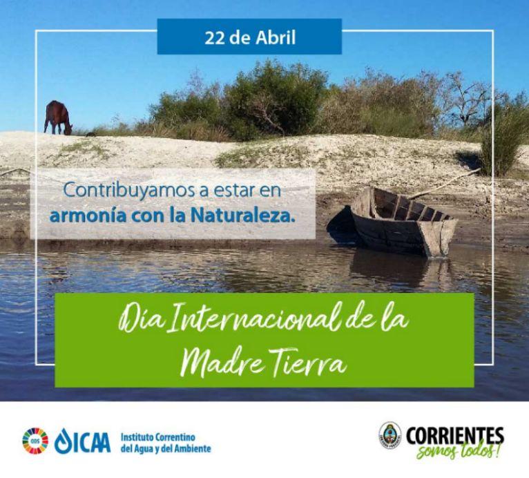 """El ICAA  busca promover la armonía en el """"Día Mundial de la Madre Tierra"""""""