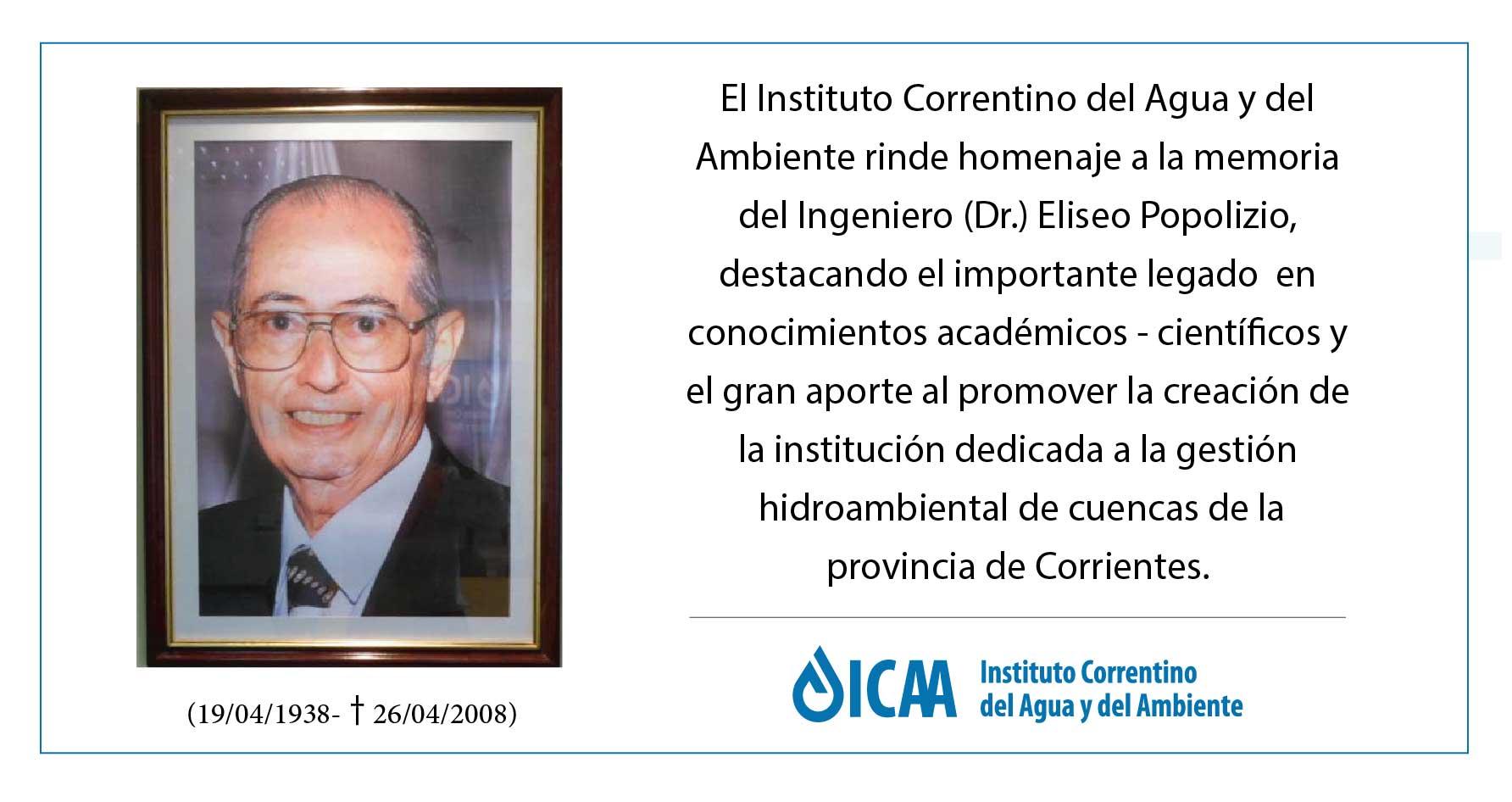 Homenaje del ICAA  en el aniversario de su fallecimiento