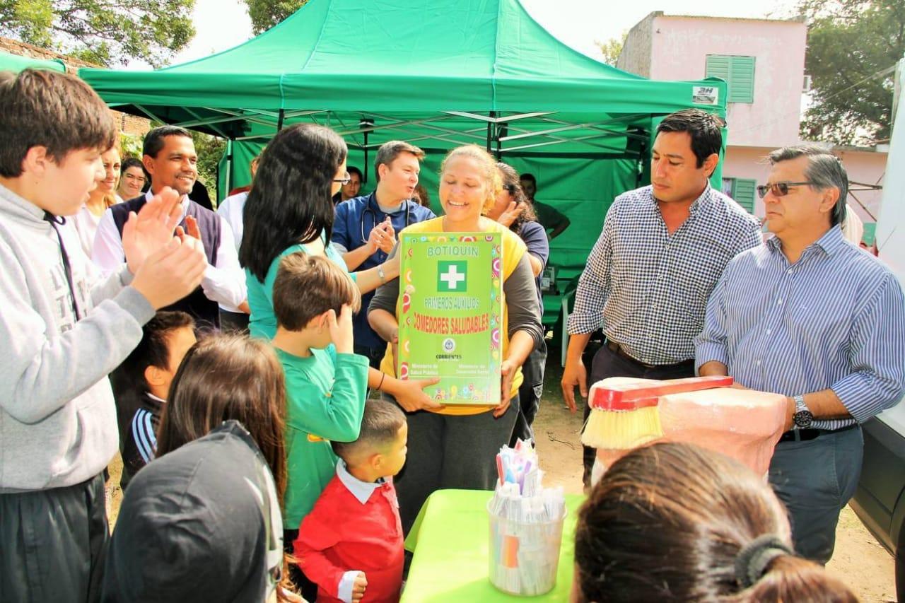 Más de 600 familias asistidas en merenderos de los barrios Patono y Lomas del Mirador