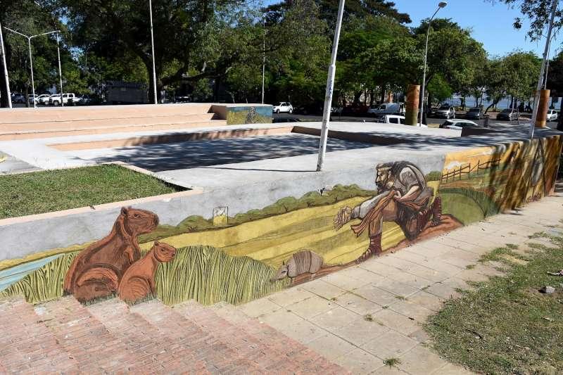 Inauguración de obras y puesta en valor del anfiteatro José Hernández