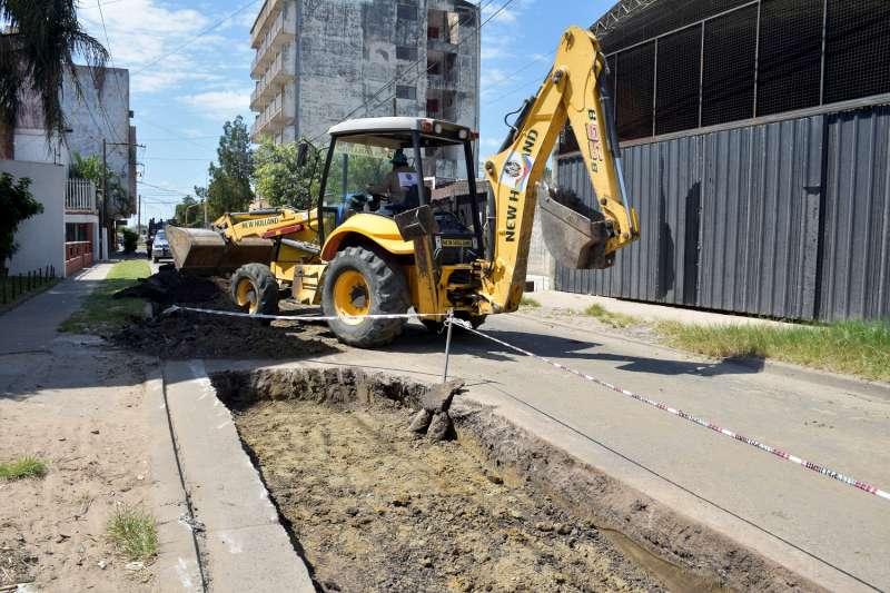 Se intensifican trabajos de bacheos en distintos puntos de la ciudad