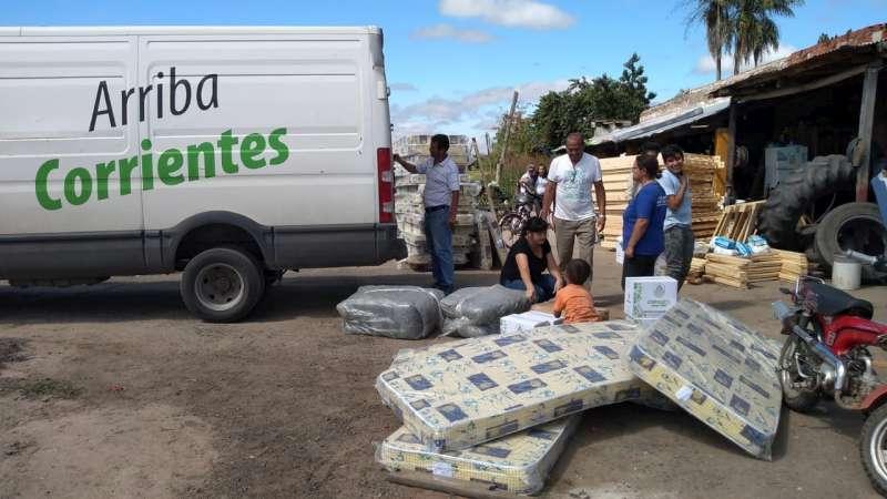 Cinco familias recibieron asistencia por daños en sus viviendas en Itá Ibaté