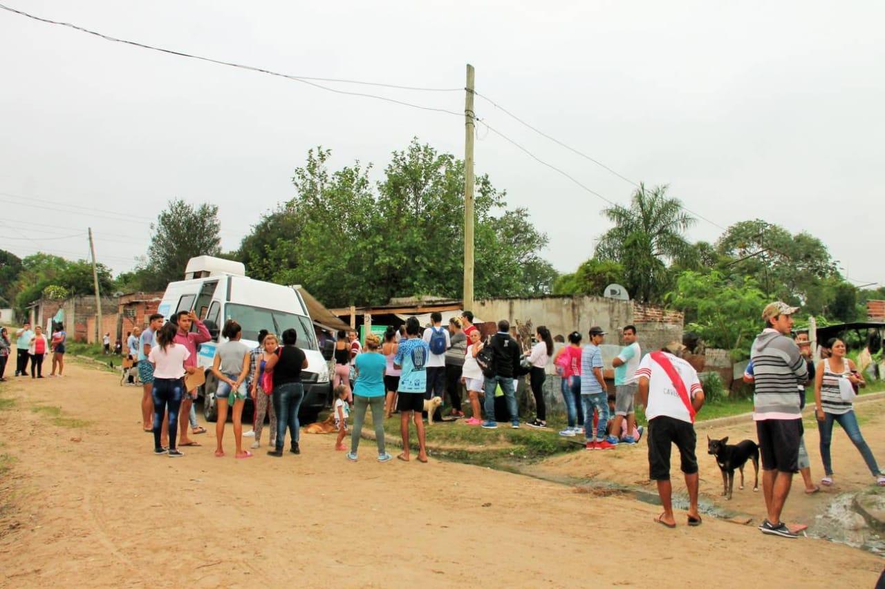 Más de 400 personas participaron del operativo «ANSES Y DNI EN TU COMEDOR»