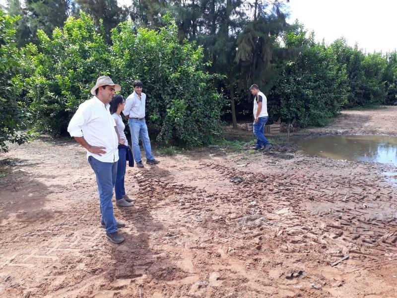 Recorrida y asesoramiento sobre la implementación de Buenas Prácticas Agrícolas