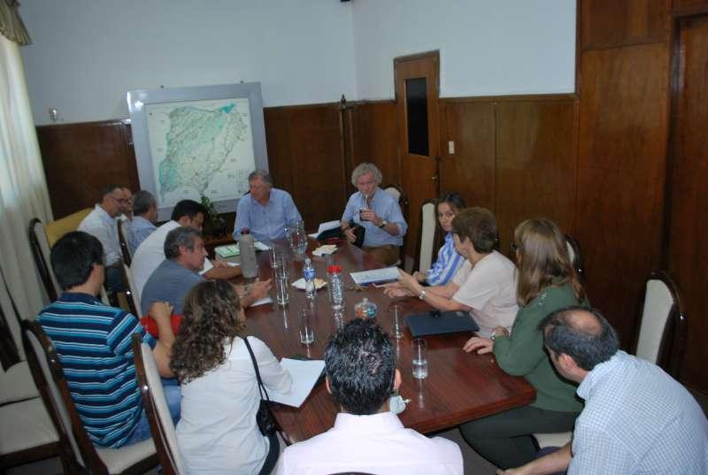 Visita de funcionarios del Banco Interamericano de Desarrollo (B.I.D)