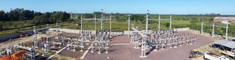 Ya entró en servicio y se encuentra en pleno funcionamiento la Estación Transformadora Goya Oeste