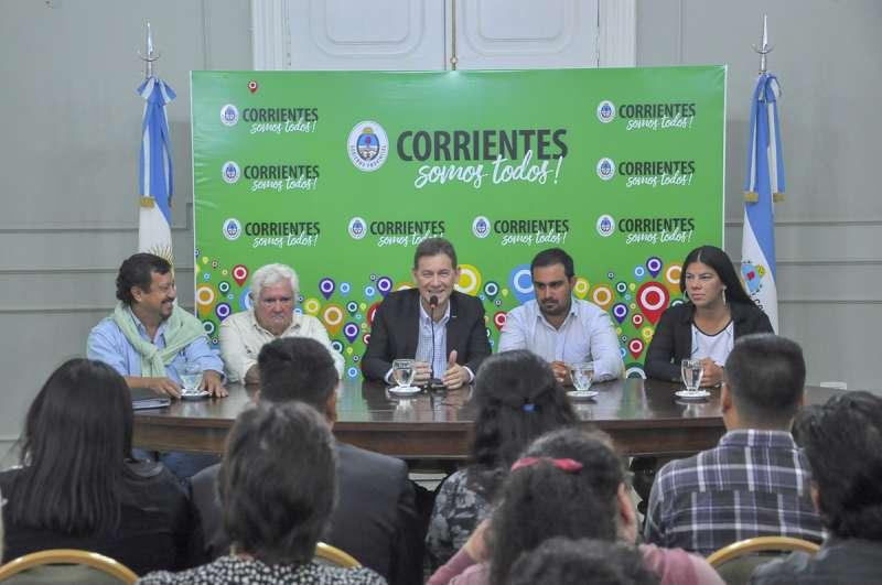 Presentaron el Segundo Encuentro Provincial de Artesanos y Emprendedores