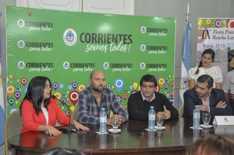 Se presentó la 9ª Fiesta Provincial del Mencho Correntino y Fiesta Patronal en honor a la Cruz de los Milagros