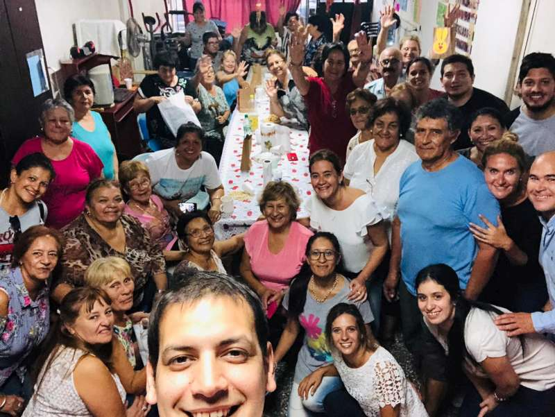 El IPS visitó a los abuelos del Club Mi tercera juventud
