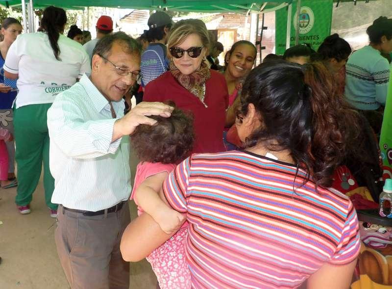 En operativo de Salud, Cardozo dialogó con vecinos y destacó el trabajo del personal sanitario