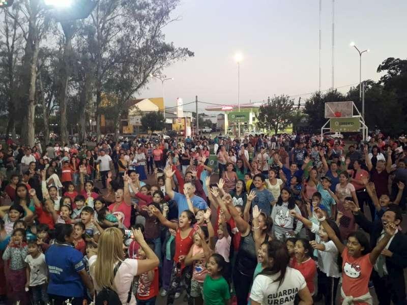 El Gobierno de la Provincia y la Municipalidad realizaron Festival en el Parque Eucapliptal