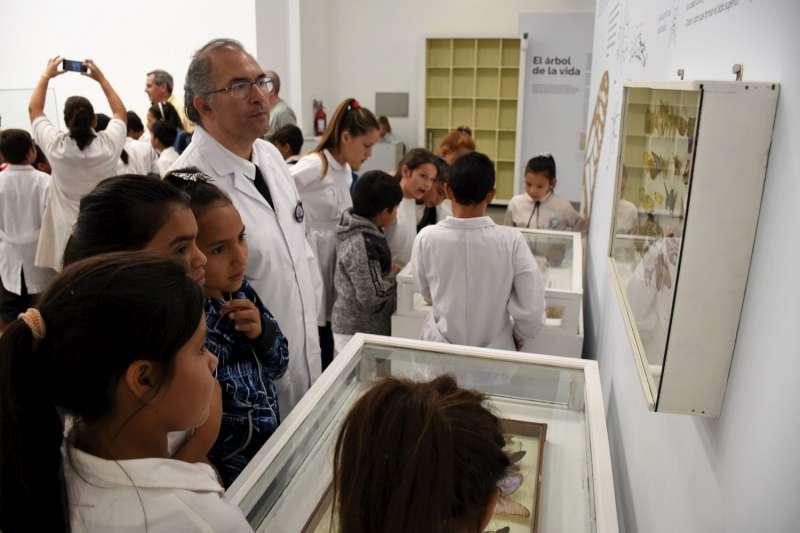 Alumnos de la Escuela Nº 13 del barrio Punta Taitalo realizaron un recorrido guiado por la ciudad