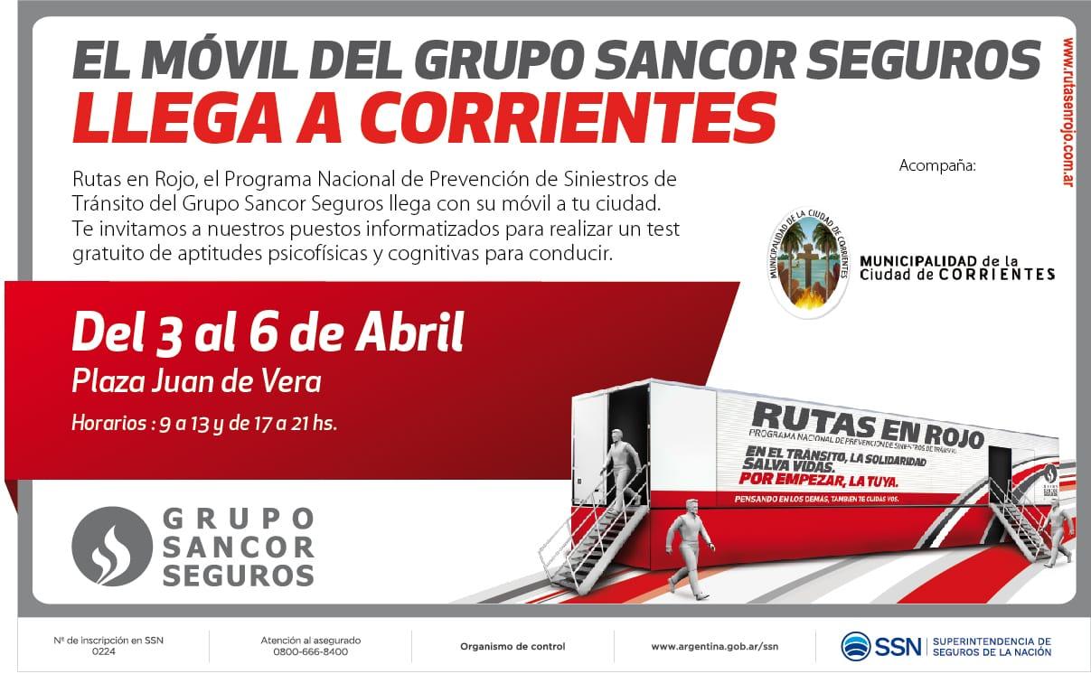 Realizarán prevención de seguridad vial en Plaza Vera con test de aptitud de manejo gratuitos