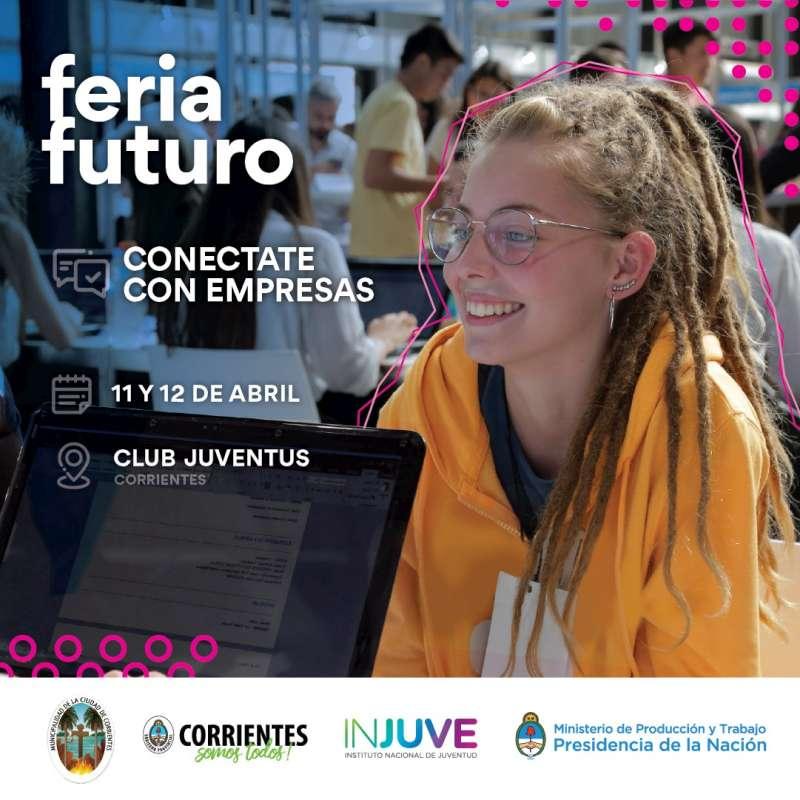 Feria Futuro, un evento que busca acercar a los jóvenes al mundo laboral