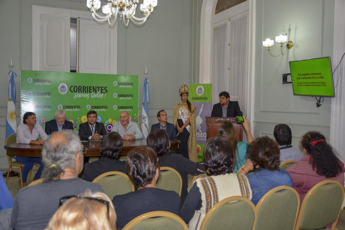 """Empedrado anunció la vigésima edición de la Feria Provincial de Artesanías """"Arandú Po"""""""