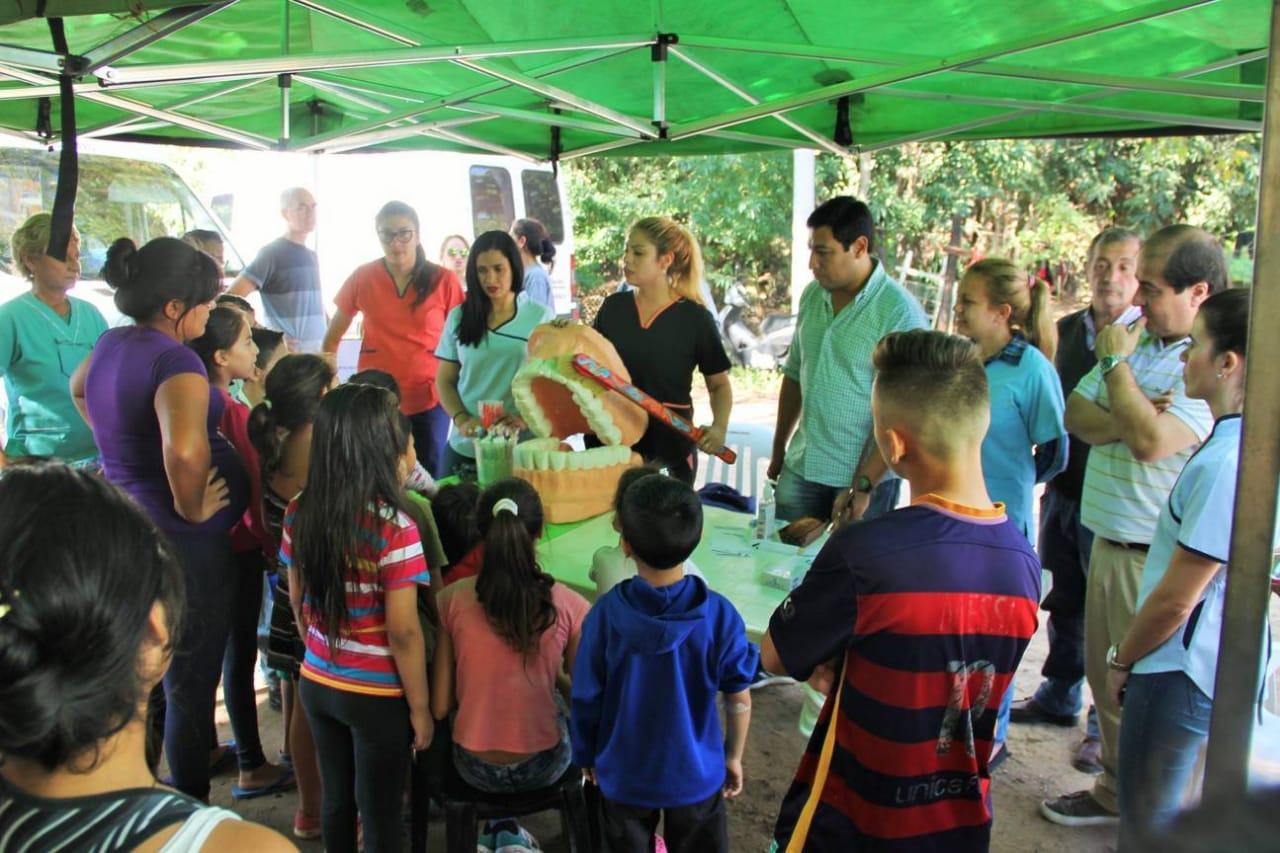 El Programa Comedores Saludables pasó por los barrios Santa Teresita y Cichero
