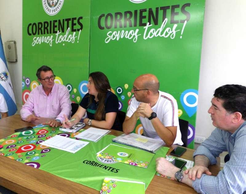 Provincia y Municipio trabajando juntos en los «Juegos Correntinos 2019»