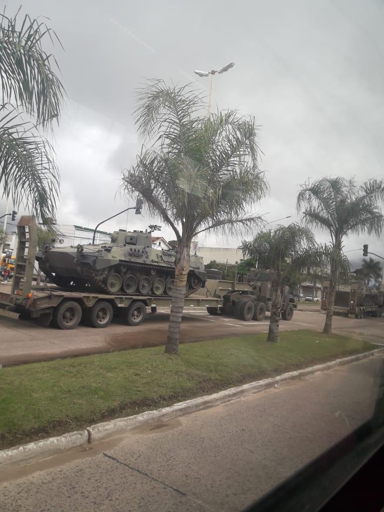 En el Día de la Revolución de Mayo formará parte el Tanque Argentino Mediano (TAM)
