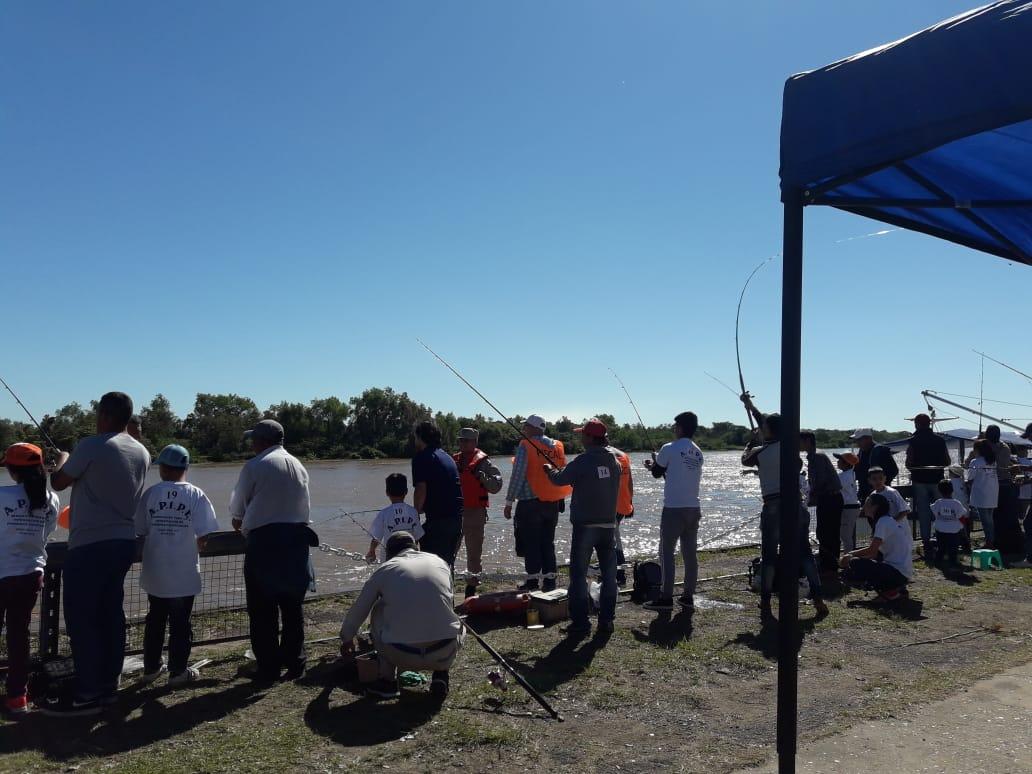 Más de 600 personas participaron en el Concurso de Pesca Inclusiva