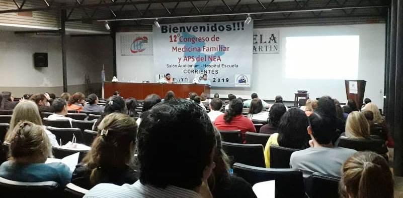 Salud realizó el 12º Congreso de Medina Familiar y APS del NEA