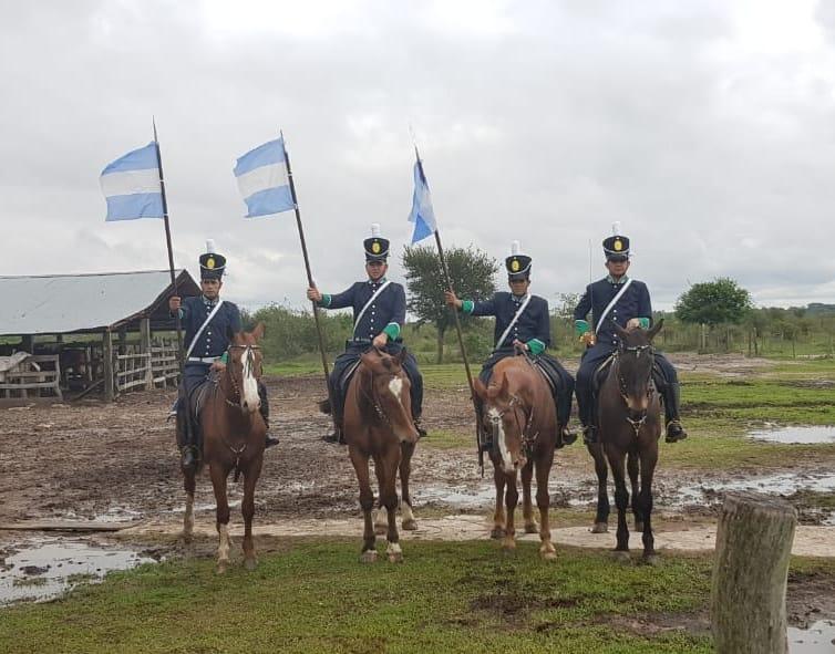 """En el Día de la Revolución de Mayo volverán a escena """"Los Dragones de San Juan de Vera"""""""