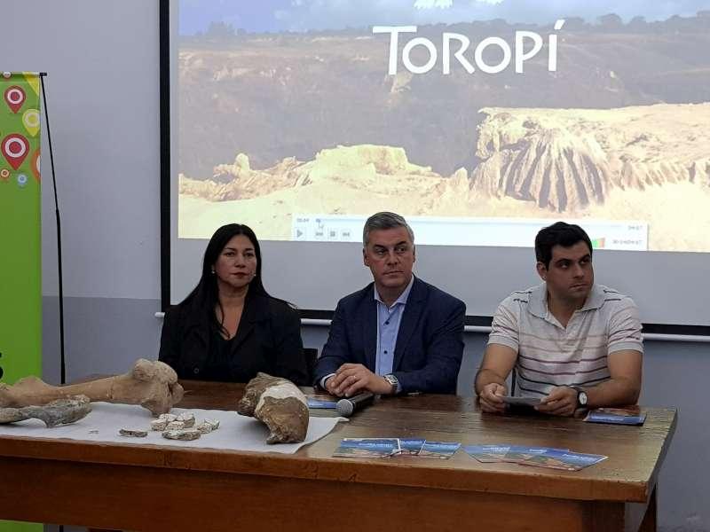 Presentaron el Primer Encuentro Provincial de Paleontología de la ciudad de Bella Vista