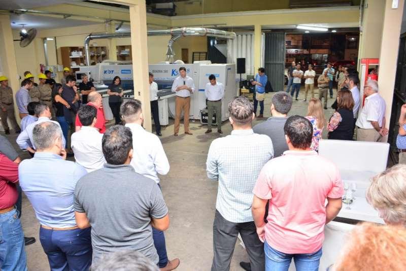 Schiavi destacó la inversión de una empresa chaqueña en Corrientes