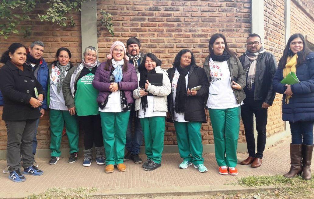 La Provincia llevó servicios de salud al barrio La Chola