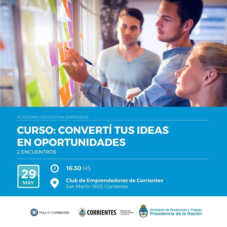 Nuevo taller sobre desarrollo de ideas en el Club de Emprendedores
