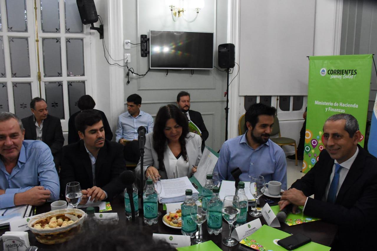 Sesiona en Corrientes el Consejo Federal de Responsabilidad Fiscal