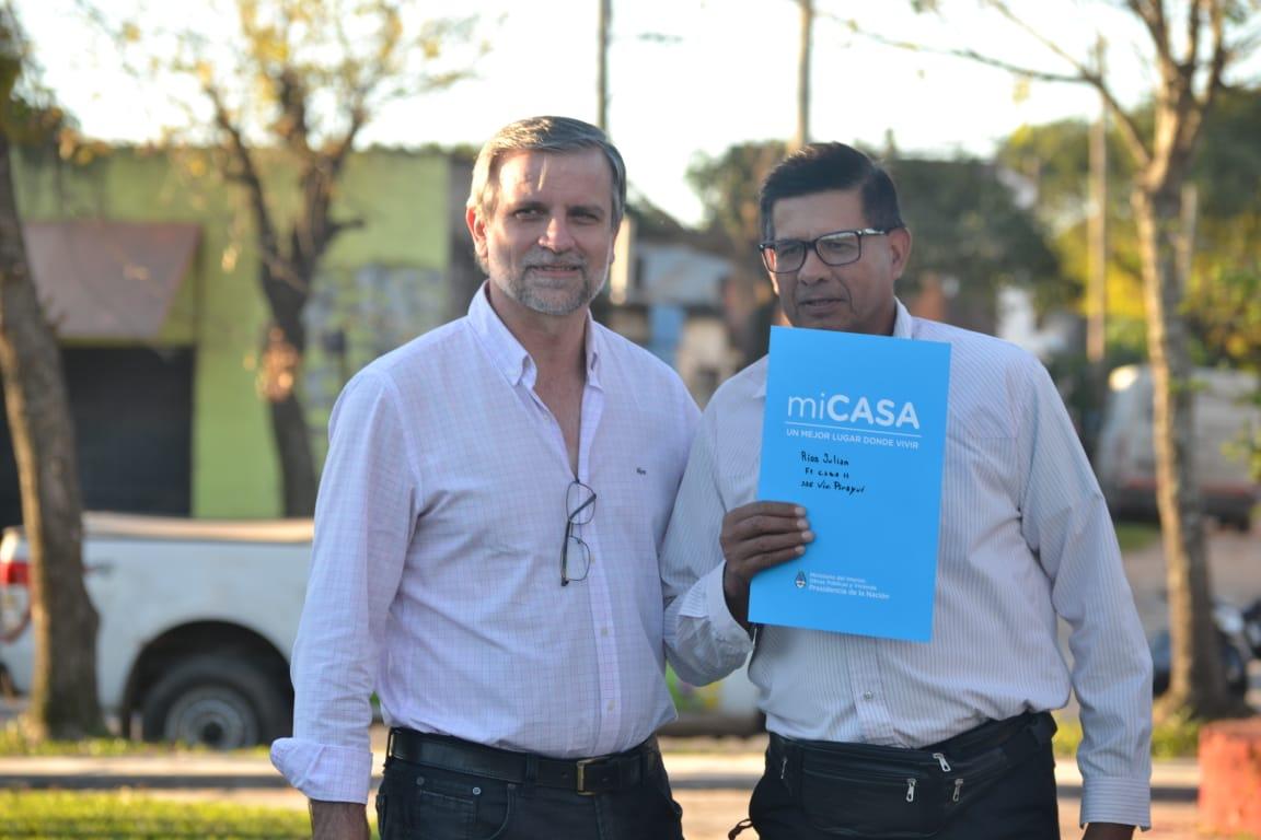 141 Familias correntinas accedieron al título de su vivienda de forma gratuita