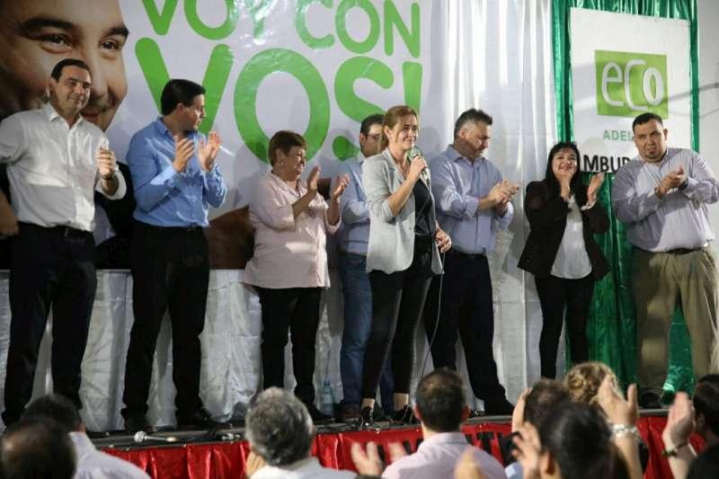 Valdés exhibió fortaleza estatal y garantizó la continuidad de obras en la provincia