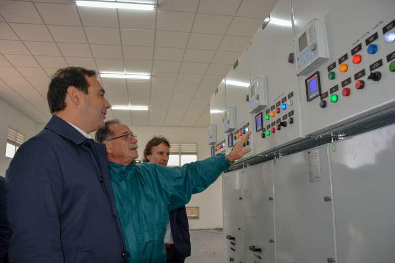 En Goya, Valdés sostuvo que el potencial energético de la Provincia traerá trabajo de calidad