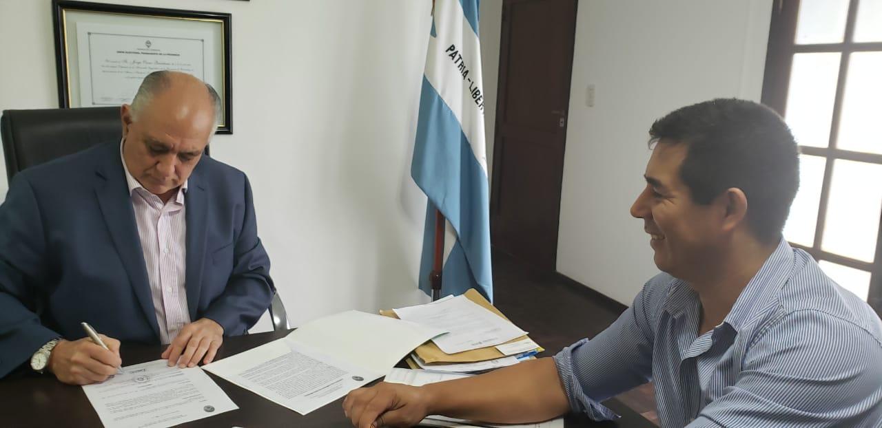 El Ministerio de Justicia y la Comuna convenían mejoras para el Registro de las Personas en Tatacuá