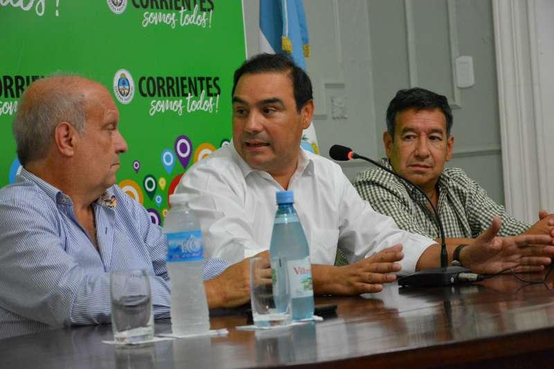 Llega Lombardi y firma convenios con el gobernador Valdés para expandir la cultura de Corrientes