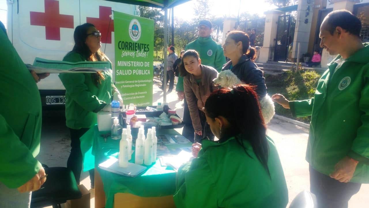 La Provincia continúa con operativos sanitarios en distintas localidades