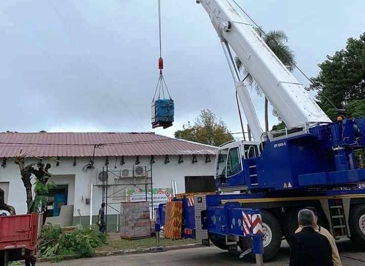 Llegó un Resonador Magnético Nuclear al Hospital de Ituzaingó